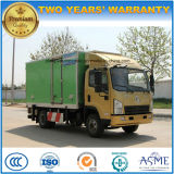 Shacman Van refrigerato 4X2 5 tonnellate di alimento rinfresca il camion