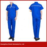 Projetar vestuários de trabalho do desgaste da combinação dos uniformes do algodão para os homens (W11)