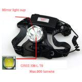 10W Xml T6 재충전용 LED 헤드라이트