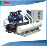 Refrigerador de refrigeração do parafuso do projeto 80ton água industrial nova