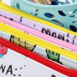 Art-sackt nettes Speicher-Beutel-Kursteilnehmer-Briefpapier der frischen Frucht-1PC erhältliche Farbe des PU-die lederne wasserdichte Bleistift-Beutel-4 ein