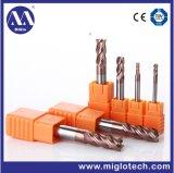 맷돌로 가는 절단기 (MC-100057)를 형성하는 주문을 받아서 만들어진 절단 도구 단단한 탄화물 공구