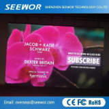 Hohes Präzision P6mm farbenreiches LED-Bildschirmanzeige-Innenpanel mit guter Qualität