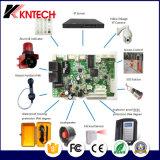 Placa PCB SIP VoIP KN518 com visor TFT e câmara