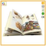 Service d'impression polychrome de livre de livre À couverture dure de qualité