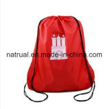 Sacchetto di Drawstring promozionale del poliestere/sacchetto di stringa di tiraggio zaino del Drawstring