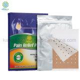 Certificación ISO13485 Long-Lasting de parches de productos de alivio del dolor de espalda alivio de dolores musculares, parche