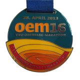 記念品(MD05-B)のための熱いカスタマイズされた亜鉛合金の金または銀賞メダル