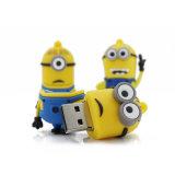卑劣な黄色人3Dの漫画の棒私子分USBのフラッシュペン駆動機構