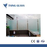412mm Berijpt/Zuur Geëtsts Glas/Gezandstraald Aangemaakt Glas voor de Bouw/Deocration/Bureau/Deur/Balustrades/Leuningen