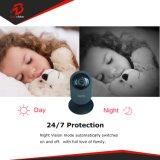 Sicherheits-Überwachung-Netz WiFi CCTV-2MP schwarzes drahtloses Haupt-IP-Kamera