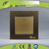 유럽 기준 TUV 세륨 콜럼븀에 의하여 증명되는 알루미늄 LED 은 스위치에 1가지의 갱 사람 방법