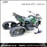 110cc Automático Manual y arranque eléctrico transmisión de la cadena chino para niños de la fábrica de motos de nieve