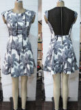 Платье шнурка способа, платье шнурка, верхние части шнурка