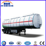 3axles 28tons Bitumen-Asphalt-Edelstahl-Tanker-halb Schlussteil mit Italien-Brenner