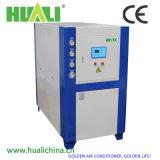 Refrigerador refrigerado por agua industrial integral para la transformación de los alimentos