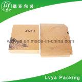 Rectángulo de papel plegable acanalado impreso aduana