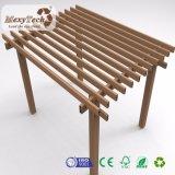 Pérgola de madera Anti-ULTRAVIOLETA del material compuesto WPC con el marco de aluminio