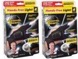 Correa de guantes Fingerless de magia con linternas LED Linterna manos libres