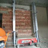 Het Pleisteren van de Bouw van de Muur van de baksteen de Concrete Enige Fase van de Machine