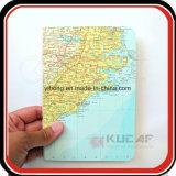 Пользовательские карты модели жесткого покрытия расходов на поездки с использованием журнал ноутбук4
