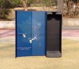 La impresión de logotipo personalizado de lujo en cajas de cartón para botella de vino