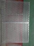 De aangepaste Gat Geperforeerde Muur van de Decoratie van het Comité van het Aluminium Enige