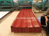 Тип выбитая крыша диаманта PPGI покрывает Corrugated панель толя PPGL