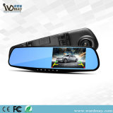 4.3インチLCDスクリーンが付いているWdmの機密保護CCTV車のビデオレコーダーの背面図ミラー