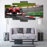 HD напечатало холстину изображения плаката печати декора комнаты печати холстины искусствоа стены картины группы автомобиля F1