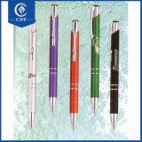 2017 crayons lecteurs de bille en métal de qualité/stylos bille intenses superbes
