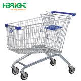 Carrello dei carrelli di acquisto per il supermercato