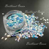 Sparkle Water-Drop Shaoe cintilantes lantejoulas para pistolas de salão, Decoração