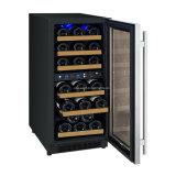 Costruito in frigorifero doppio del dispositivo di raffreddamento di vino di zona/frigorifero del vino