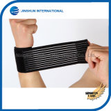 重量挙げのテニスのTendonitisの関節炎療法のための伸縮性がある包帯の覆いが付いている手首サポート波カッコ