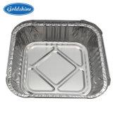 Largement utilisé du papier aluminium boîte carrée Conteneur pour restaurant