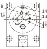 Pgz 1500 Automatische Schraper centrifugeert