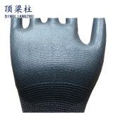 gants enduits de sûreté de nitriles d'interpréteur de commandes interactif du polyester 13G avec du ce