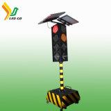 Fábrica de energía solar de 3 de los colores señales de tráfico