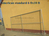Custom Standard Popular 6FT * 12 TF Portable temp Fencing for Construction (XMR132)