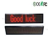 Señalización de la pantalla LED pantalla LED de rodadura de los mensajes de publicidad