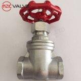 Стандартный низкое давление Pn16 304 запорный клапан для воды