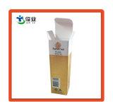 Caja de embalaje de papel resistente al agua personalizada para el producto cosmético