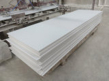 Commerce de gros de haute qualité Corian blanc pur solide feuille de surface en acrylique