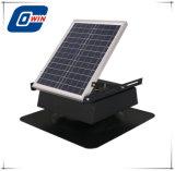 20 watts com painel do ventilador Solar, ventilador de teto solar com bateria Opearated