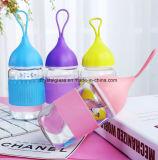 Glasflasche eine Wasser-Flasche als Geschenk anpassen