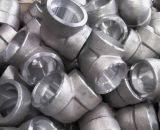 Gomito forgiato dell'acciaio inossidabile della saldatura dello zoccolo dei montaggi