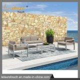 Mobiliário de jardim exterior Alumínio Cadeira de Lazer Patio Sofá Definido