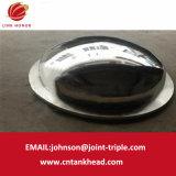 01-10-pequena extremidade elíptico Flanding de Aço Inoxidável polimento do espelho ASME final do vaso de pressão