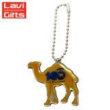 도매 주문 금속 3D 낙타 Keychain